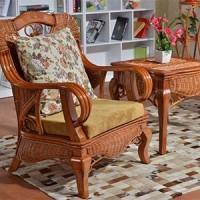 藤格格厂家提供真藤椅沙发东南亚藤沙发客厅藤家具布艺沙发藤艺沙发茶几组合特价