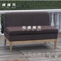 供应星巴克双人沙发 (咖啡厅布艺沙发) 日式休闲沙发