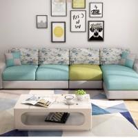 布艺沙发简约现代客厅家具整装组合沙发销售