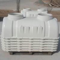 玻璃钢化粪池 2立方模压化粪池 高强度玻璃钢化粪池