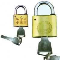 防盗月牙铜锁