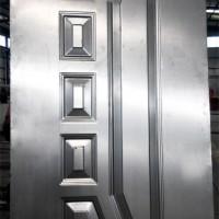 不锈钢门板压花机 LEAD 金属板压花机 防盗门压花机价格