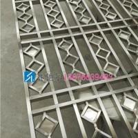 中式风格不锈钢屏风做青古铜拉丝更有韵味