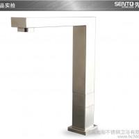 SENTO先淘304极简方形不锈钢水**冷热厨房洗菜盆水槽**H-28B