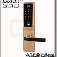 供应固丽佳GLJ-8008FG感应门锁 电子锁 指纹锁 密码锁