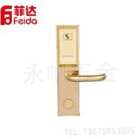 直销 IC刷卡门锁 不锈钢加长面板执手锁  智能电子感应锁
